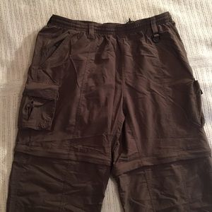 Columbia Shorts - Columbia Travel Pants Zip Off Legs